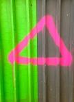 Triangle mécanique comme carré est la femme