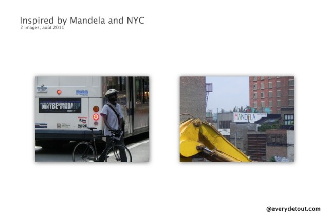 Inspired by Mandela and NYC